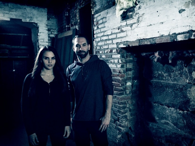 Elizabeth Saint and Nick Groff