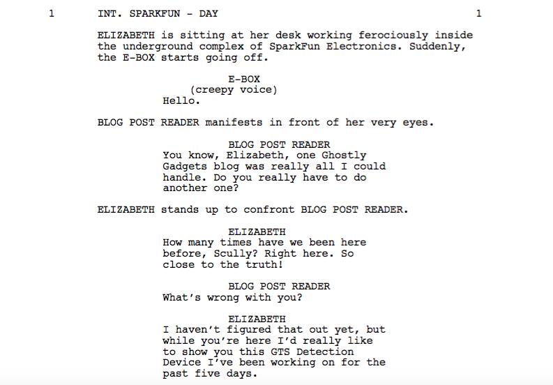 Blog Post 2 Script